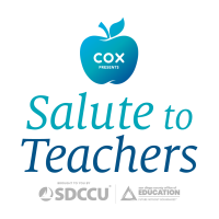 """""""Cox Presents: Salute to Teachers"""" television special to air Sunday, Oct. 17 at 9 p.m."""
