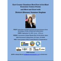 Economic Crimes Forum in East County