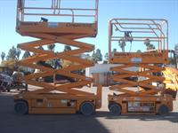 scissor and boomlifts