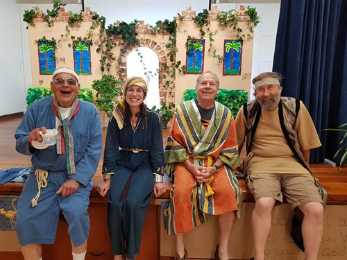 Vacation Bible School; Daniel; Courage in Captivity (Characters)