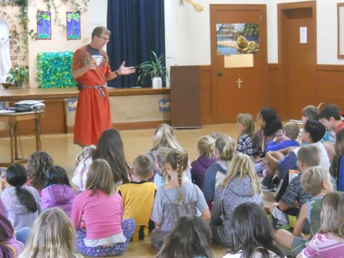Vacation Bible School; Daniel; Courage in Captivity (teaching)