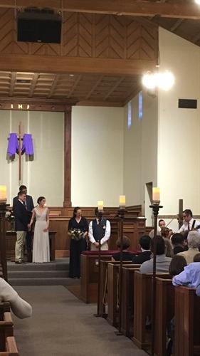 Sanctuary; wedding