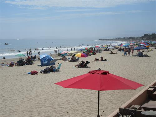 Right on the Beach at Carpinteria Shores