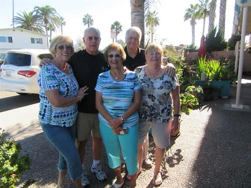 Great Friendships are made at Carpinteria Shores