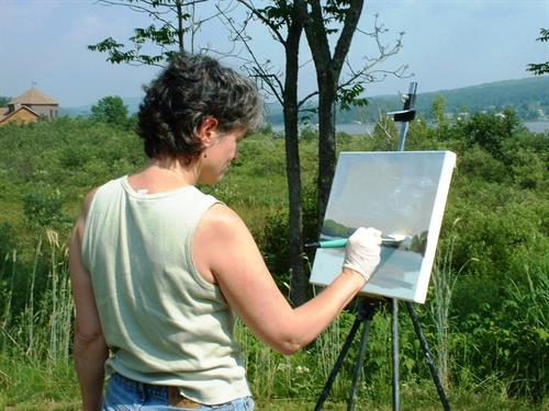 CRAG Pleinair painting
