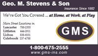 Geo. M. Stevens & Son Co.