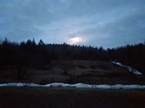 Sunset on Ladd Pond