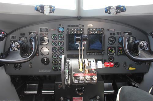 Basler cockpit