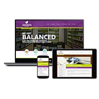 Janzen's Pharmacy Website Design