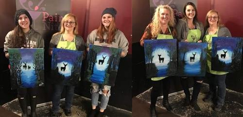 Paint Nite FC Staff & Volunteers