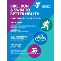 YMCA Encourages Physical Activity with TrY-Athlon People of all fitness levels invited to participat
