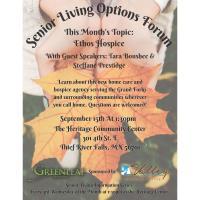 Senior Living Options Forum: Ethos Hospice