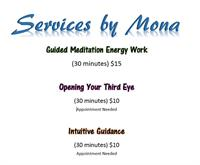 Services offered by Mona