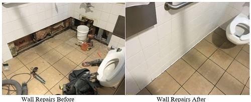 Interior Wall & Tile Repairs