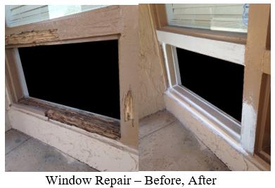Exterior Window Repairs