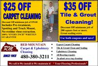 Cleaning Coupon!!