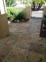 Patio Tile installation in Leisure World, Mesa