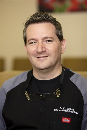 Dr. Kirk Minkus, Interventional Radiologist/Vascular Specialist