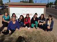 College Bound AZ students perform community service at Helen's Hope Chest
