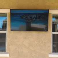 Outdoor tv's