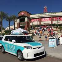 We are also sponsors of near by Anaheim Angels spring training.