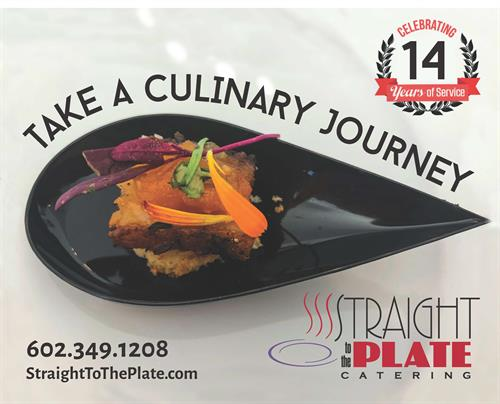 We want to take you and your guests on a Culinary Journey!