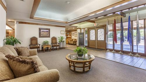 Lobby at Lakeshore Mortuary