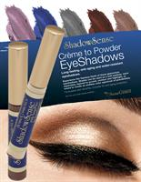 ShadowSense - Creme to Powder, long-lasting eyeshadows in a variety of colors.