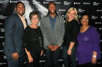 Diamond Strategies staff join the Cardinal's Larry Fitzgerald in giving back.