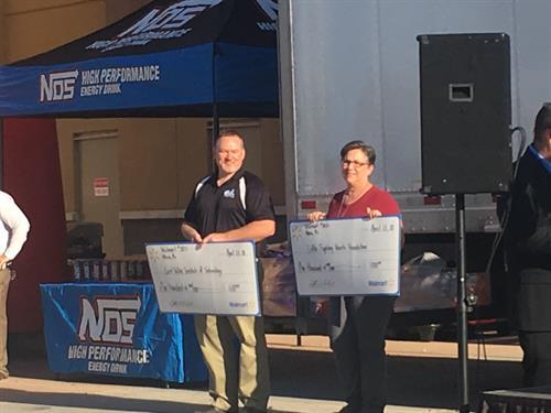 Walmart Donating $1000 support