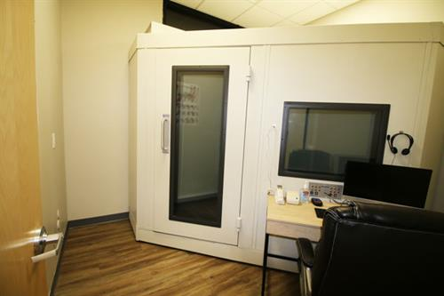 State-of-the-art Sound Testing Booth