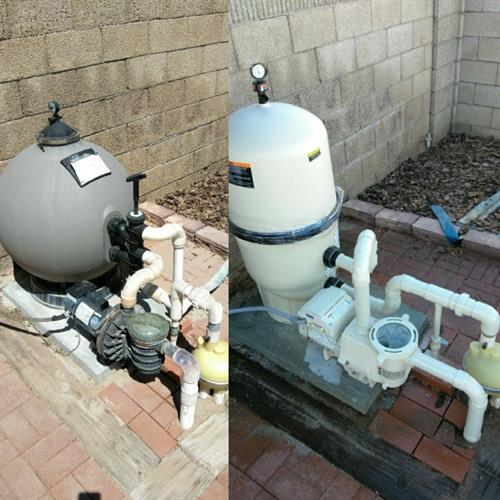 Complete Pool System Installation