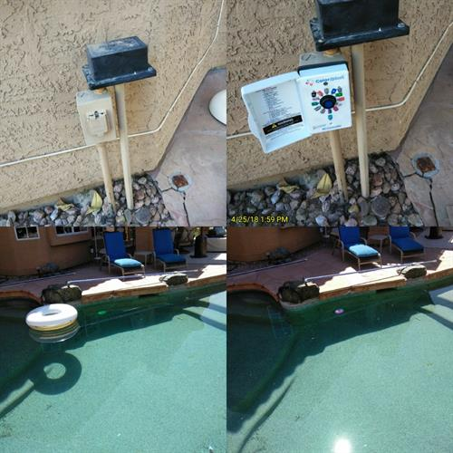 Pool Light Repair & Installation