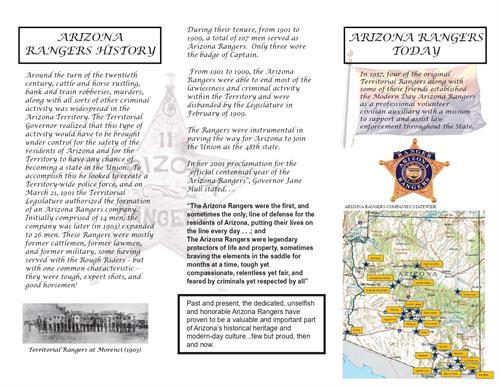 Arizona Ranger- East Valley Company- Tri-Folder- Page 2