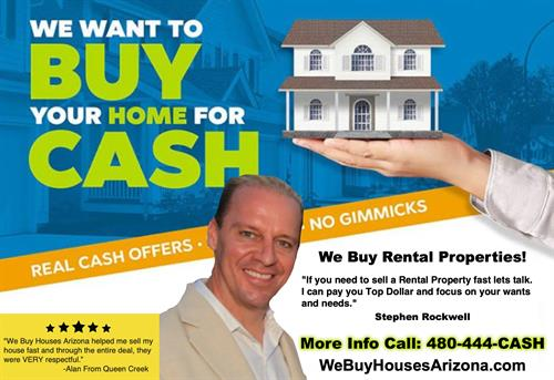 We Buy Houses Arizona Sell My Mesa House Quick  480-444-2274 CASH