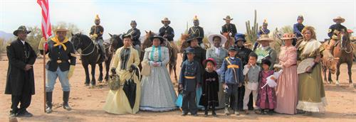Official Arizona Centennial Legacy Buffalo Soldiers of the Arizona Territory - Ladies and Gentlemen of the Regiment, Mesa, AZ