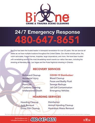 Bio-One Services