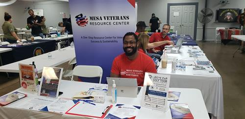 MVRC table at Operation Shockwave event