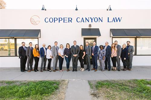 The Copper Canyon Law Family
