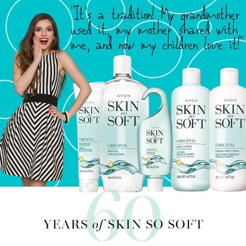 60 years of Skin So Soft....sooo many uses too!!