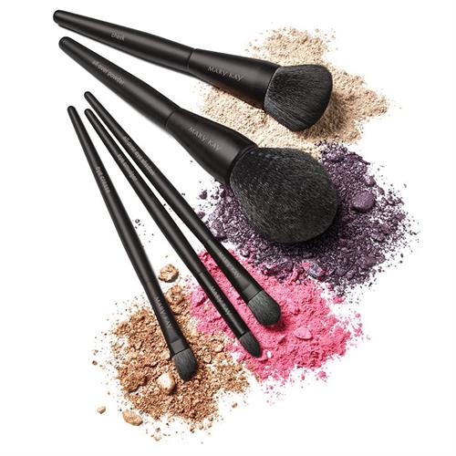 Mary Kay® Essential Brush Collection! New brush shapes help anyone create makeup looks with confidence.