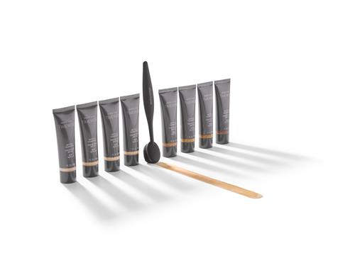 Meet the brush that stands out by blending in! Try the NEW Mary Kay® Blending Brush, featuring tons of densely packed bristles that work overtime to help blur imperfections and create all-over full coverage! Try it with the NEW TimeWise 3D™ foundations.