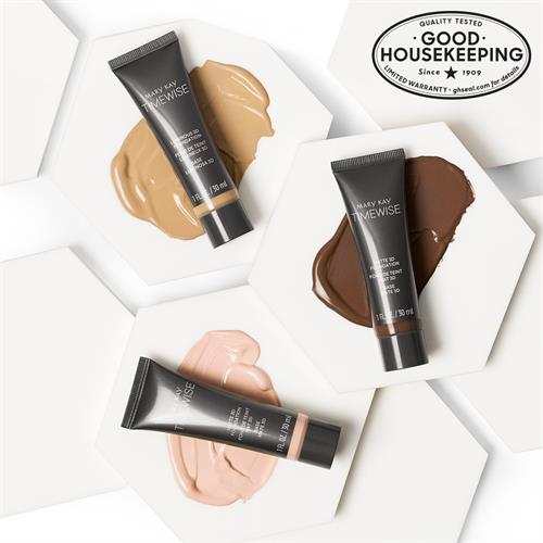 Amazing! The new #MaryKay TimeWise 3D™? Foundations in BOTH matte and luminous finishes received the Good Housekeeping Seal. You have to give it a try!