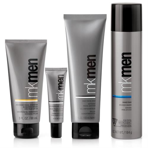 Smoothed. Soothed. Protected. Clean Face Solutions for Every Man.  MKMen® Skin Care Regimen