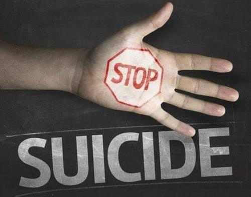 Stop suicide today