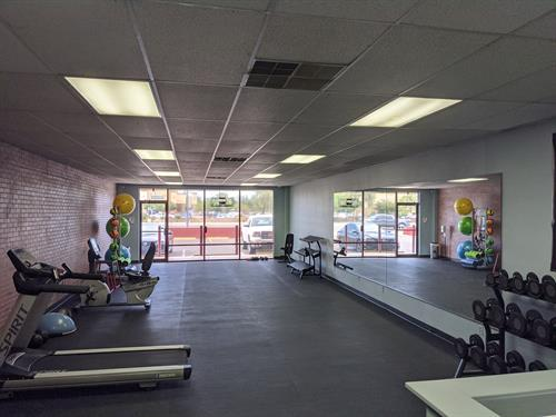 Photo of the training studio