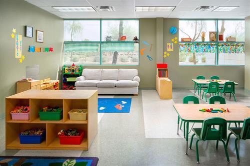 Jaguars Room (Preschool)