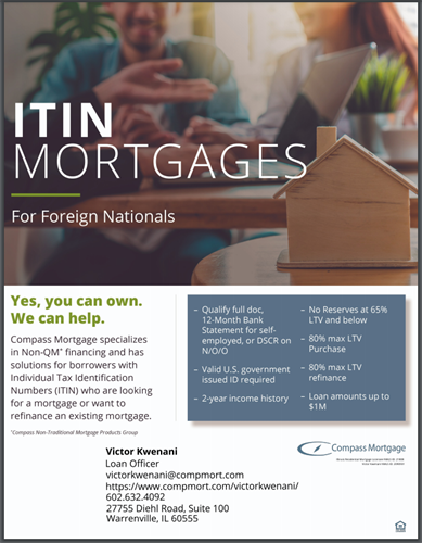 Mortgages for Foreign Nationals