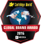 "Recipient of the ""Global Brand Award"" for 2015 and 2016"