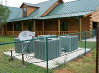 Residential job that we did in the Central Texas area